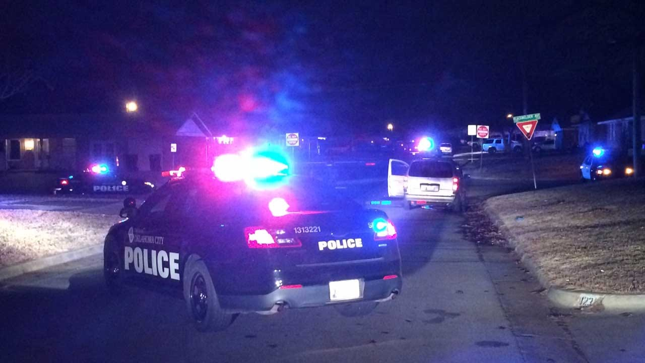 Police Investigate Drive-By Shooting In SW OKC