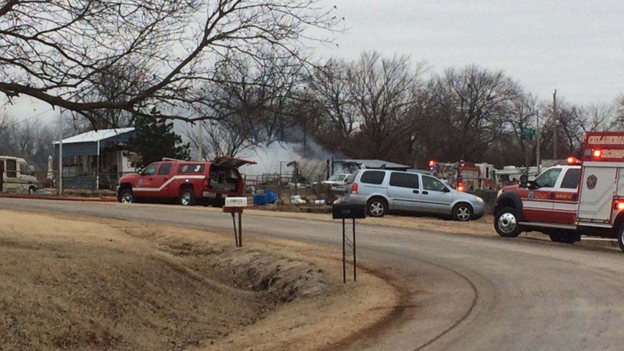 Crews Contain Multiple Structure Fires Near S.E. 179th, Sooner