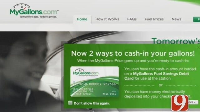 'MyGallons.Com' Locks In Gas Prices