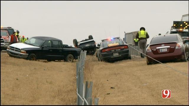 OHP Trooper Hit By Vehicle On I-40 Near Shawnee