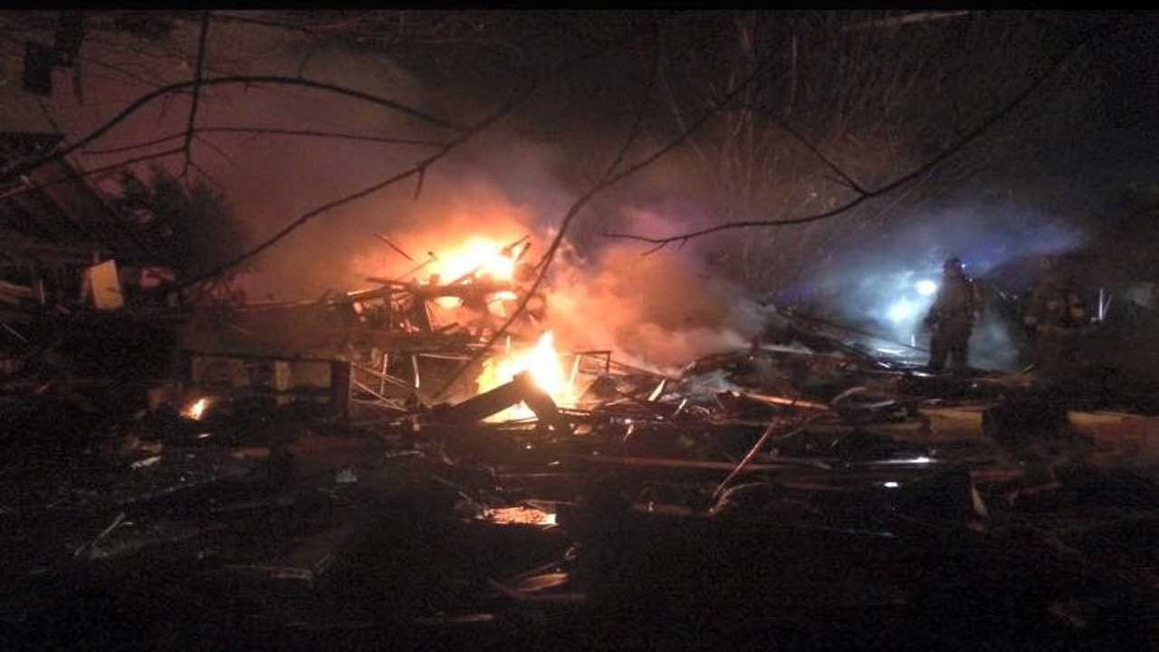 House Explodes, Forces Evacuations In NW OKC
