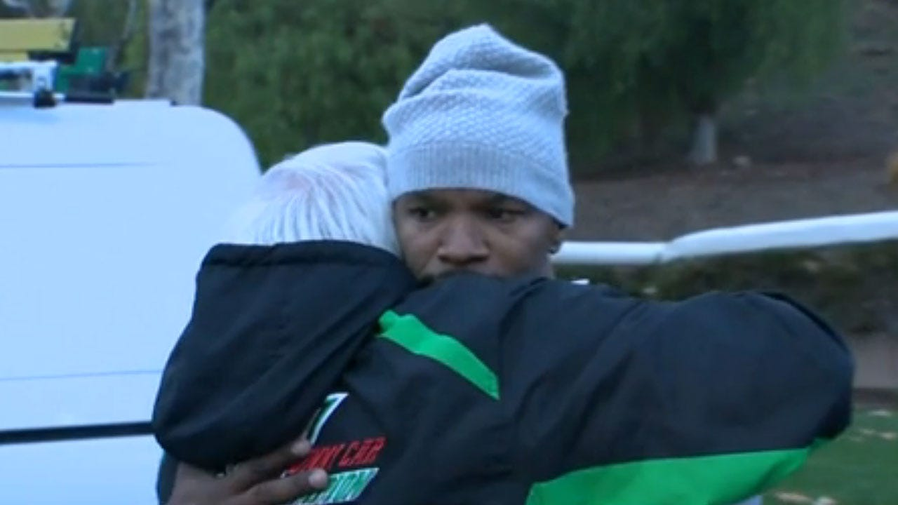 Jamie Foxx Saves Driver From Burning Truck In California