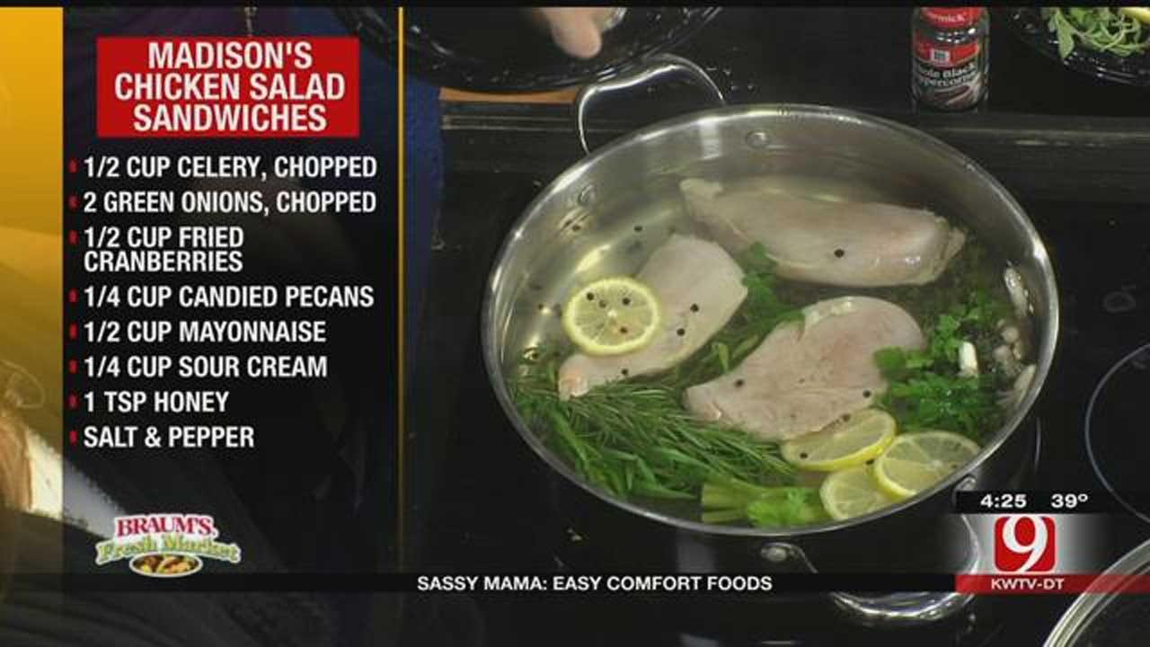 Madison's Chicken Salad Sandwiches