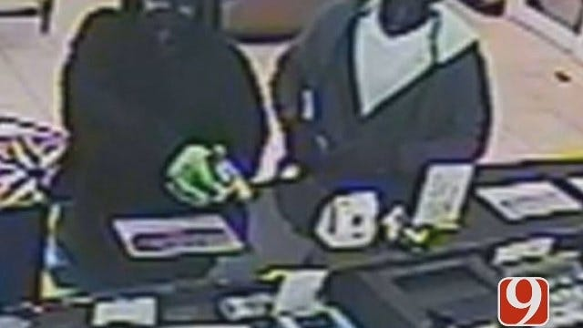 OKC Police Need Help Identifying Serial Armed Robbery Suspects
