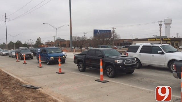 Parts Of Broadway Reopen In Edmond During Construction