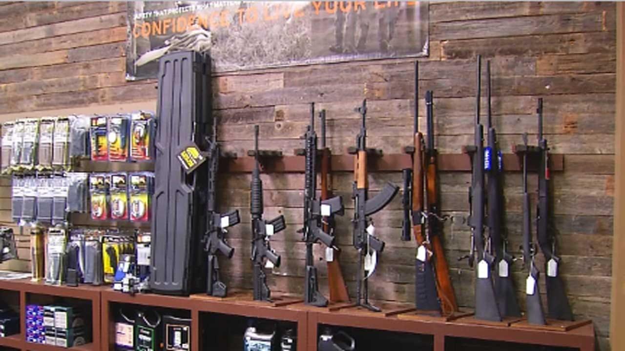 Police Searching For Suspect Who Broke Into Edmond Gun Range