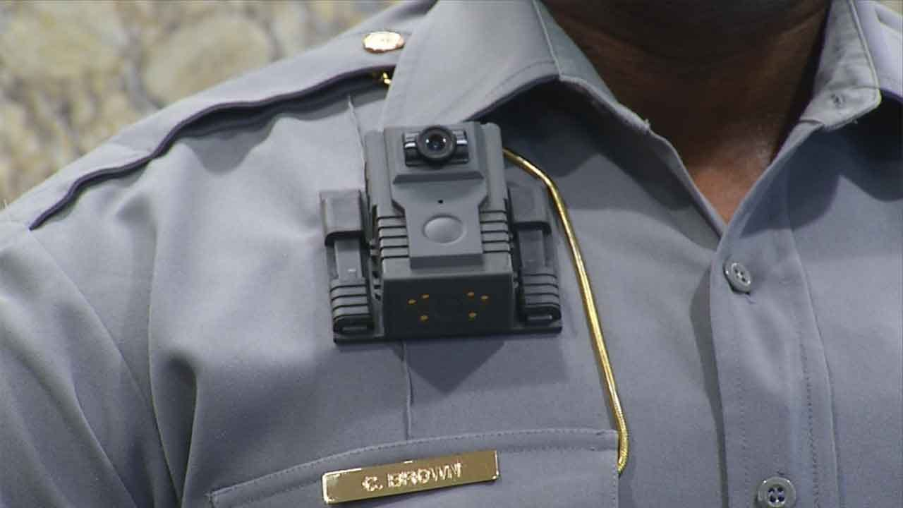 OKC Police Excited To Test Out Body Cam Pilot Program
