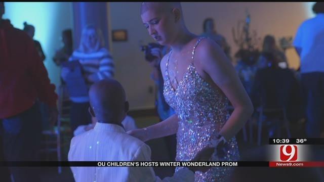 OU Children's Hosts Winter Wonderland Prom