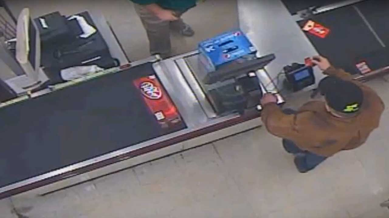 OKC Police Release Video Of Suspect Using Stolen Credit Card