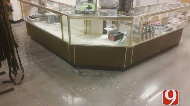 Police Supply Store Burglarized In OKC