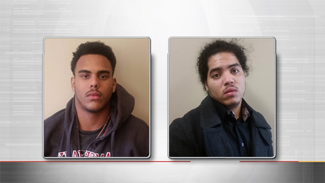 OKC Police Arrest 2 In Connection To Multiple Armed Robberies