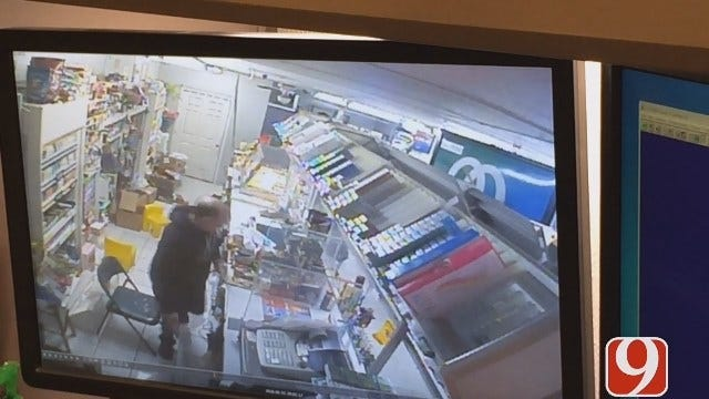 Clerk Fights Back Against Armed Robber At NW OKC Convenience Store