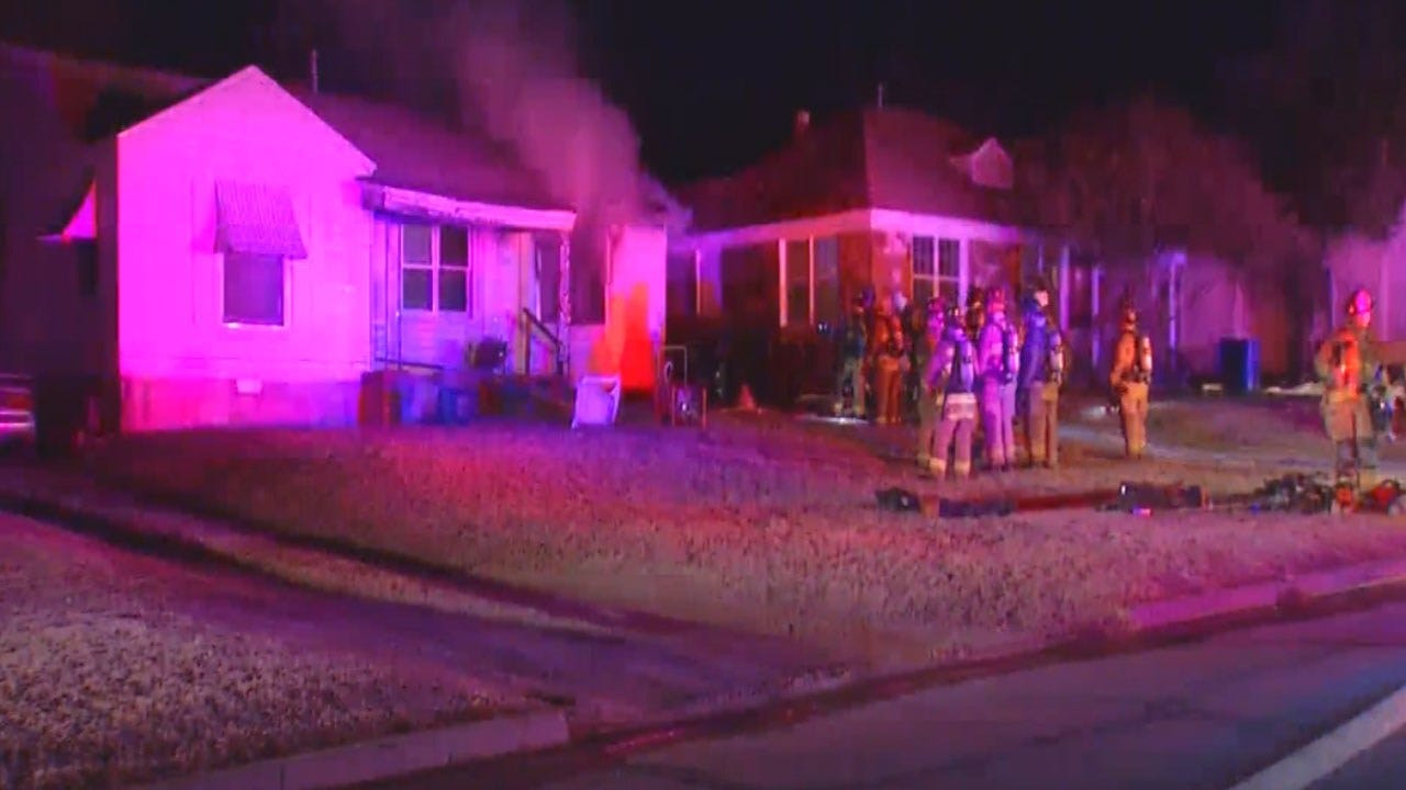 OKC Fire Officials Look Into Cause Of House Fire