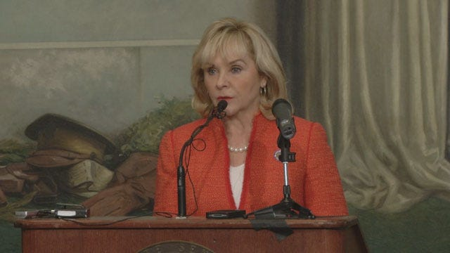 Fallin Previews Details Of Her State Of The State Address