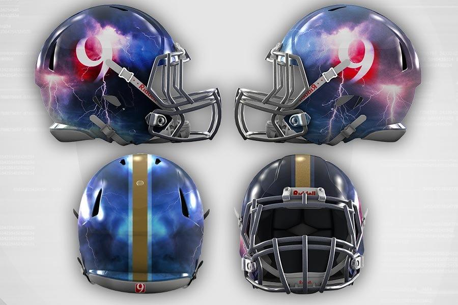 News 9 Super Bowl Helmet Giveaway