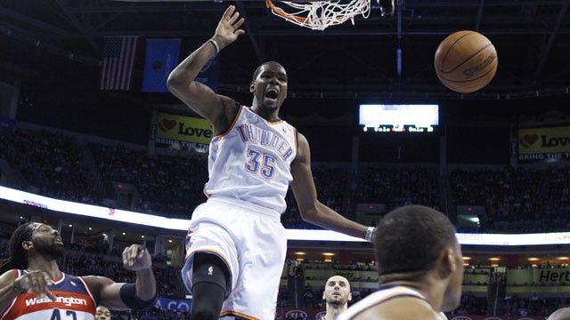 Waiting On The Wizards: Thunder Host Washington On Monday