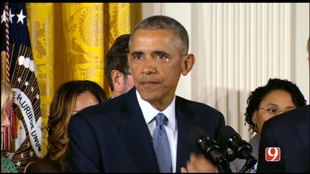 Obama Calls For Urgency In Fight Against Gun Violence