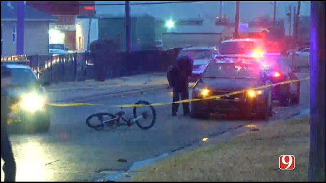 Bicyclist Hit By Car In SE OKC
