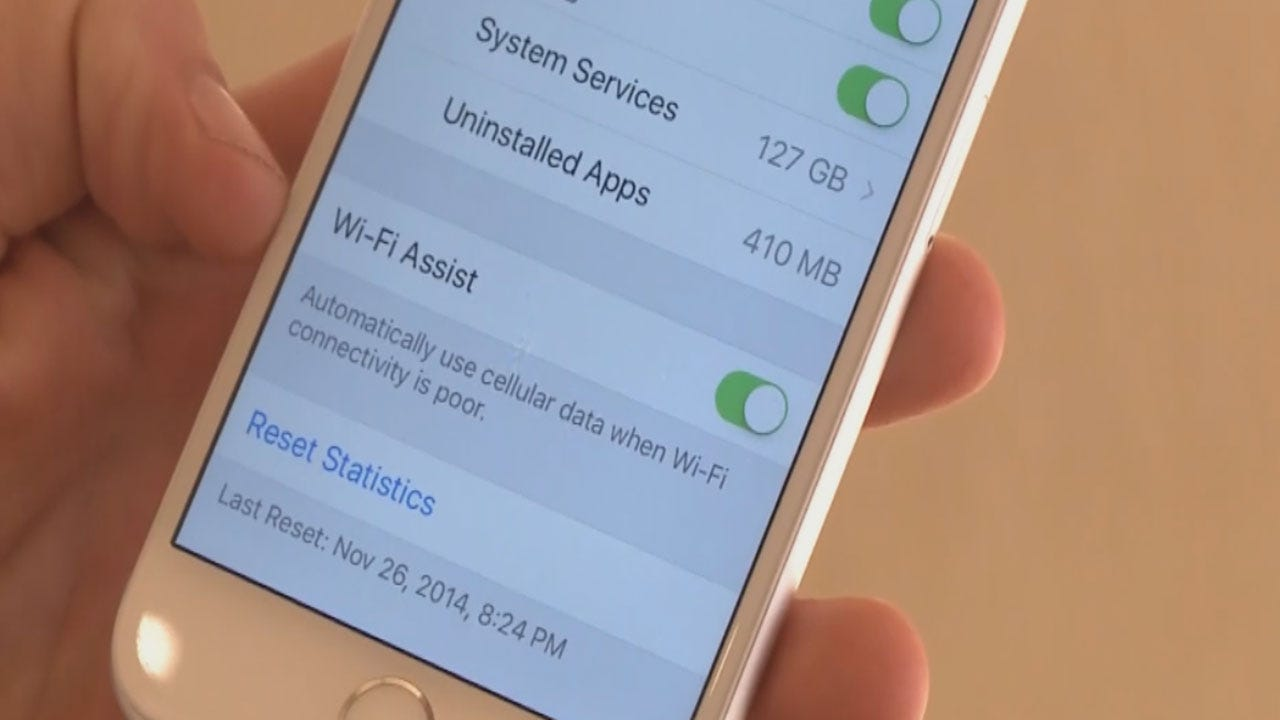 iPhone's WiFi Assist Feature Can Be Costly