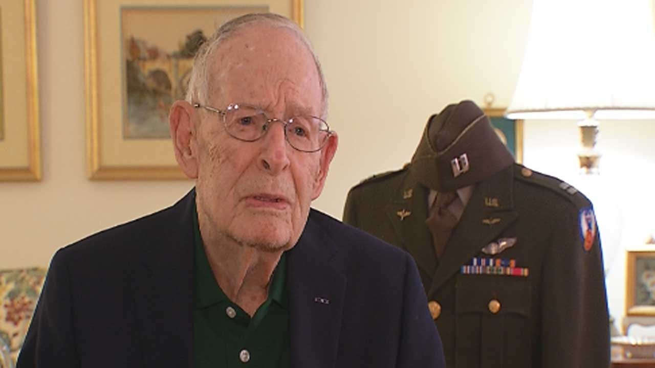 Oklahoma WWII Veteran Receives French Award