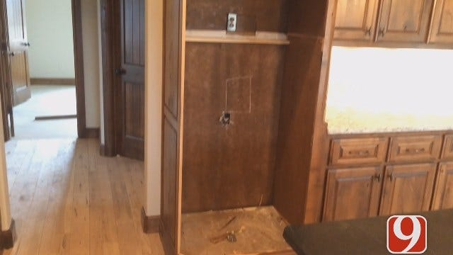 Thousands Worth Of Appliances Stolen From Unfinished Home In Western OK County