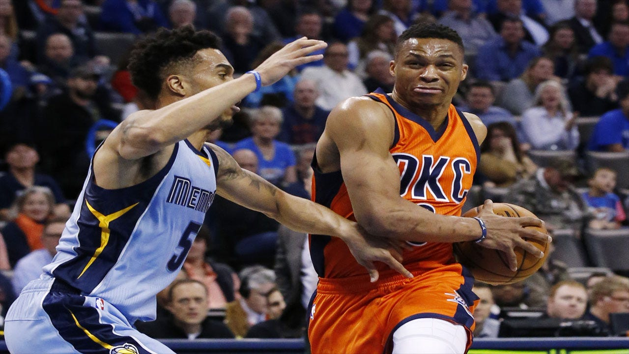 Get Out, Grizzlies: OKC Gets To 25 Wins By Beating Memphis
