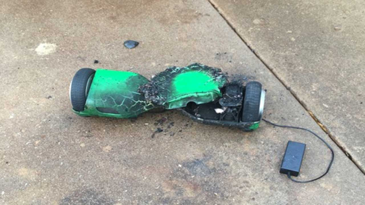 Hoverboard Catches Fire, Damages Metro Home