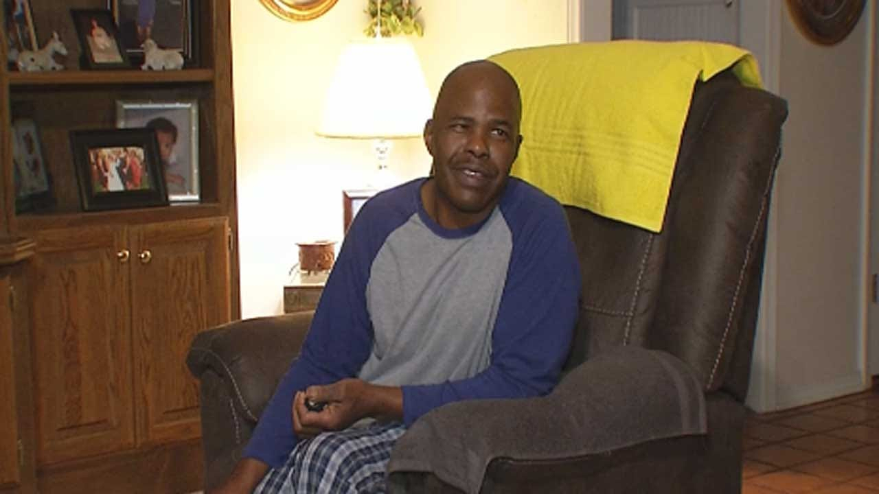Midwest City Workers Raise Money For Man Who Needs Heart Transplant