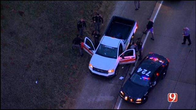 Two Suspects Arrested After High-Speed Chase Around OKC Metro