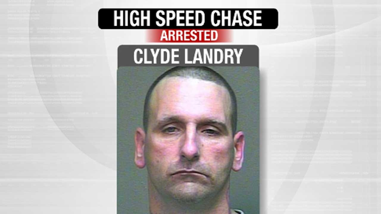 Suspect Calls OKC Officer During High-Speed Chase