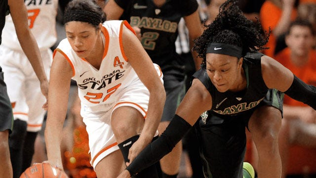 Women's Hoops: Texas Routs Oklahoma State