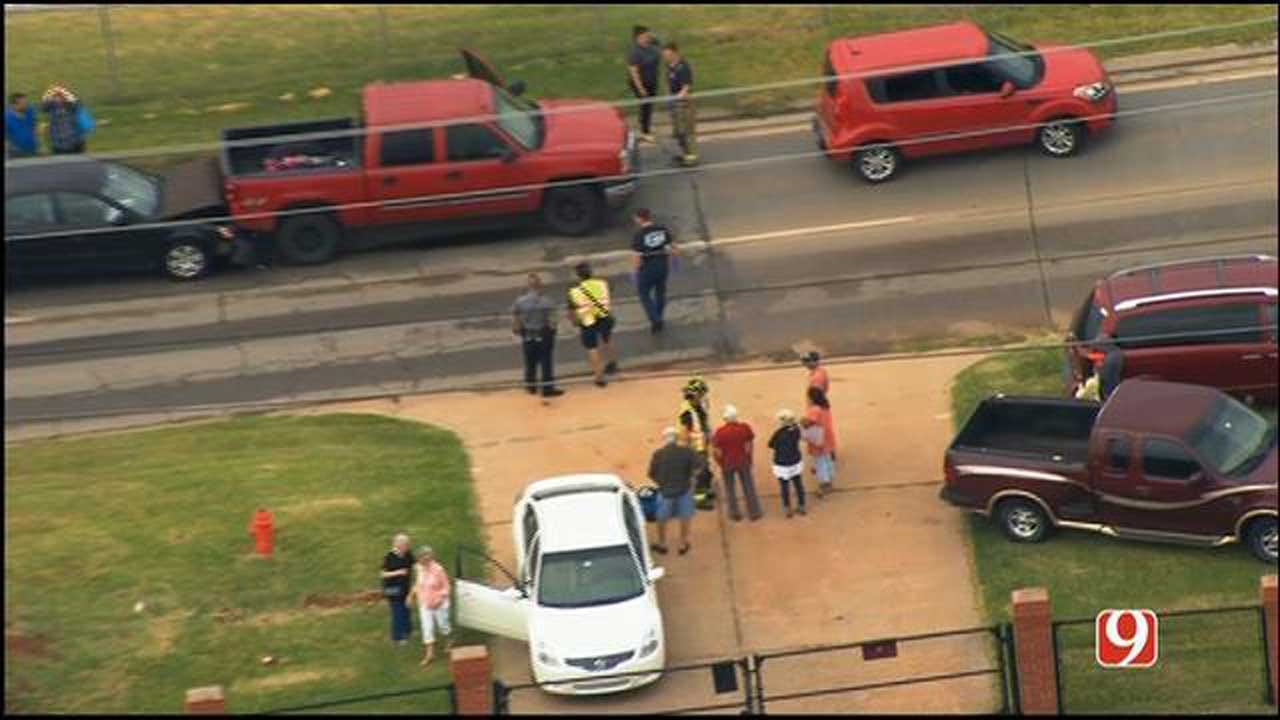 Traffic Slowed After Two Car Accidents At EB Memorial Near May