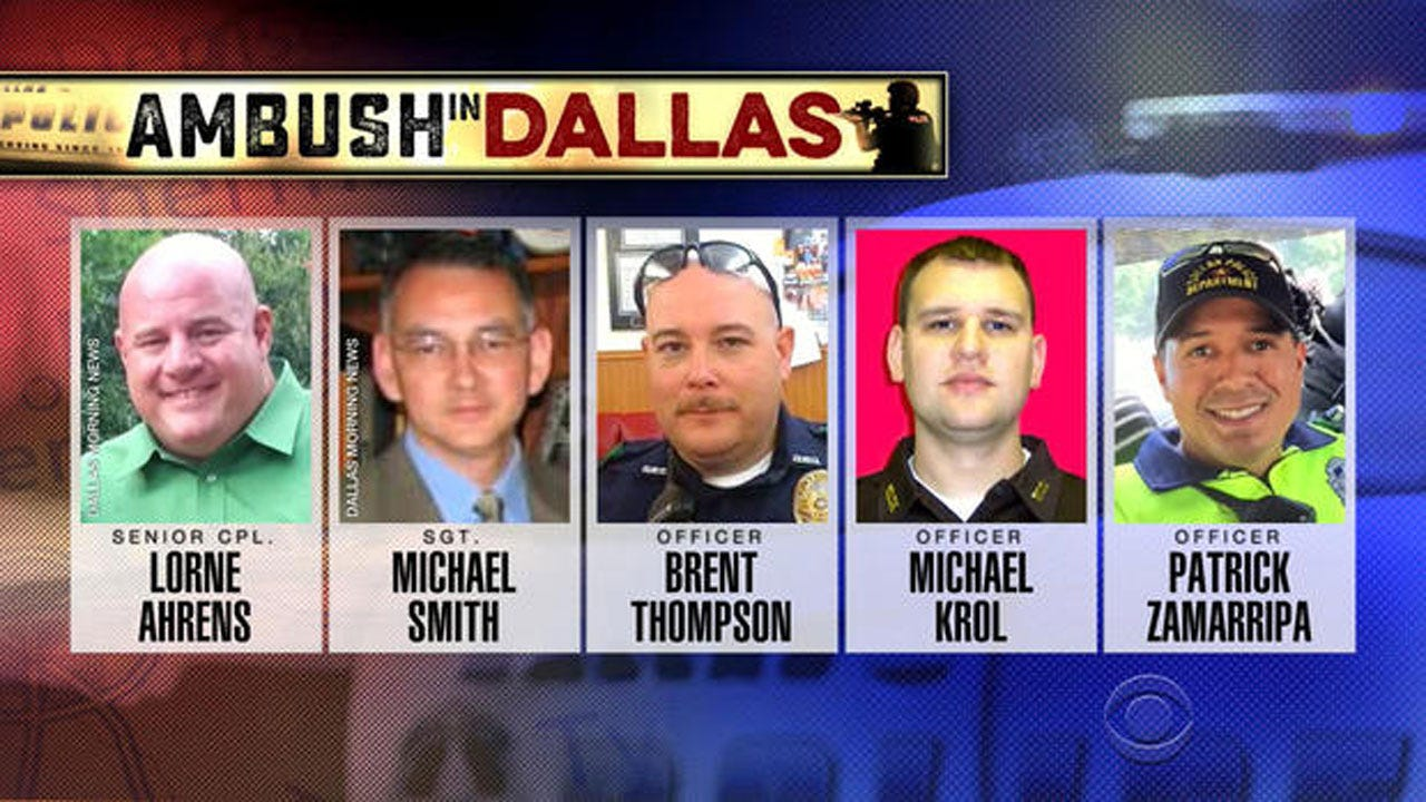 President Obama To Pay Tribute To Dallas Officers Killed In Ambush