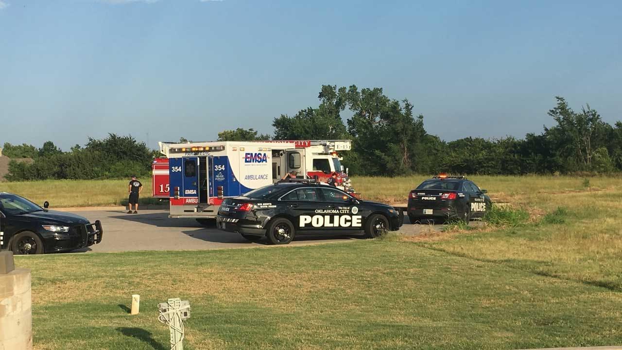 OKC Fire: One Found Dead In NW OKC Pond