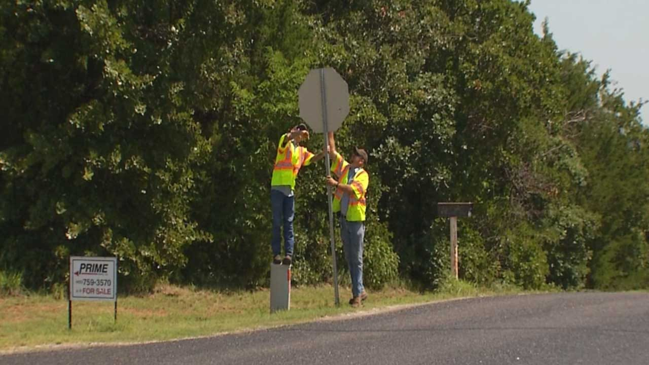 Spike In Road Sign Theft Creating Problems In OK County