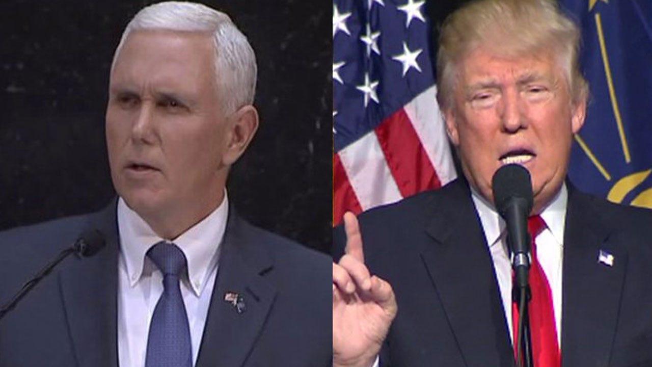 Donald Trump Picks Indiana Gov. Mike Pence For VP
