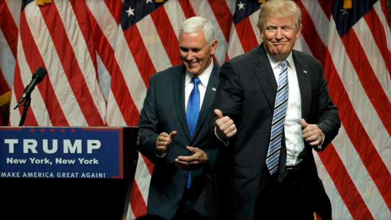 Donald Trump: Mike Pence Was 'My First Choice' For VP