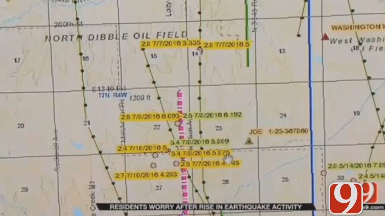 Researchers Looking Into Cause Of Recent Earthquake Spike Near Blanchard