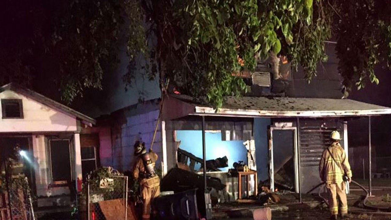 Firefighters Put Out House Fire In Southeast OKC