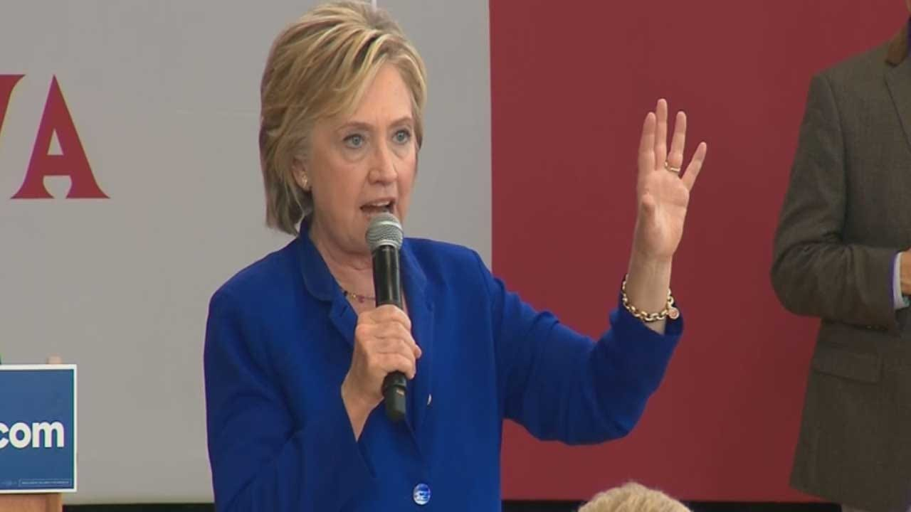 Hillary Clinton May Announce Her Pick For Running Mate Friday