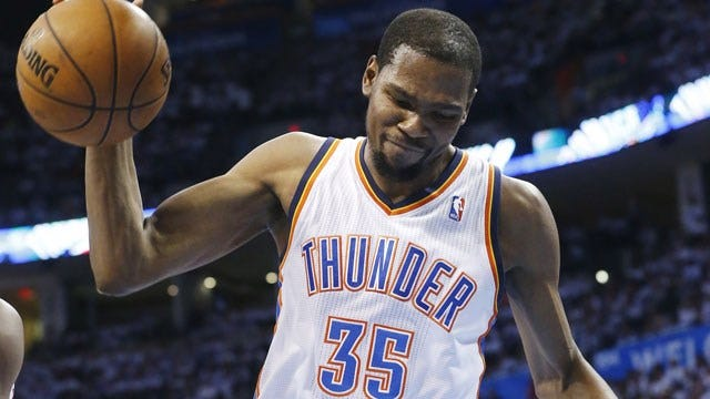 OKC Businesses Selling Kevin Durant Jerseys For Cheap