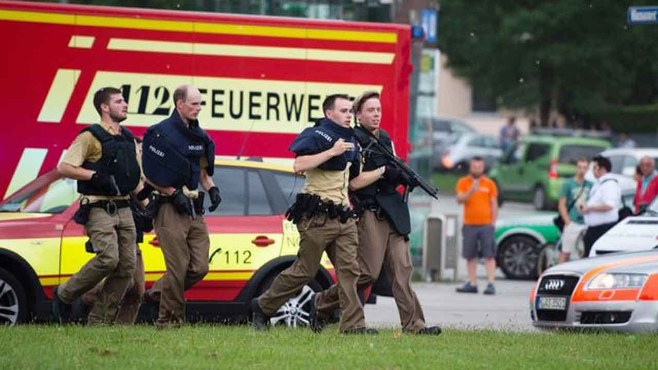 Police: At least 8 Dead In Munich Mall Shooting