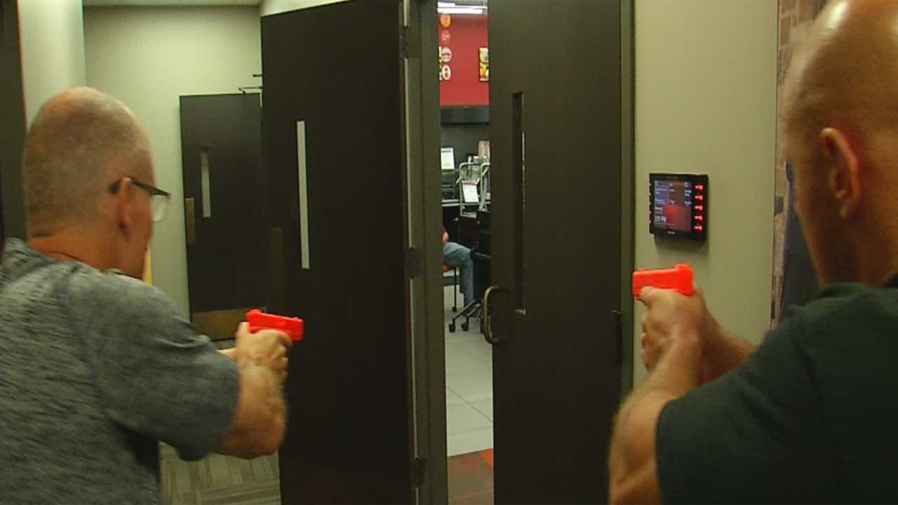 Law Enforcement Train In Workplace Violence Response