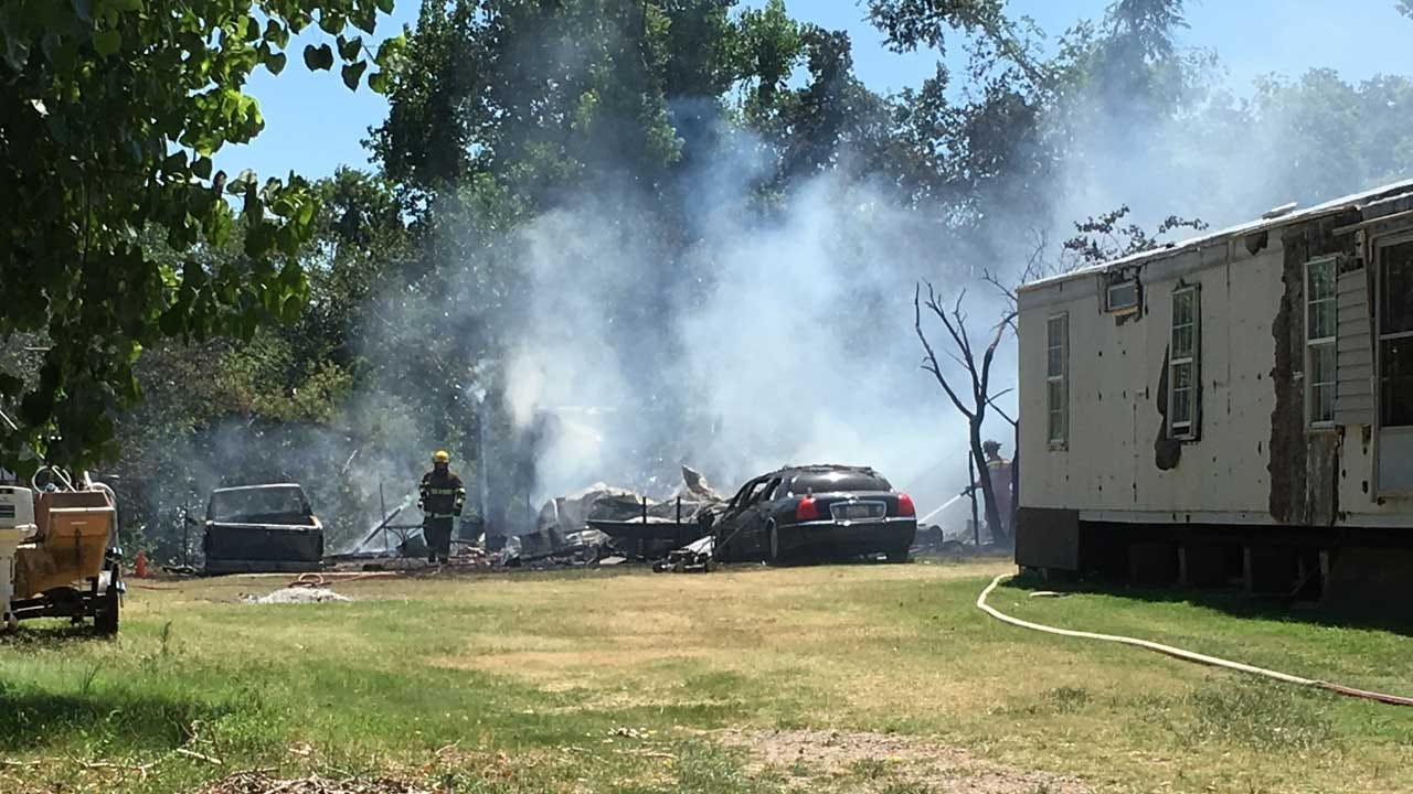 Mobile Home Destroyed, Pets Killed In Fire