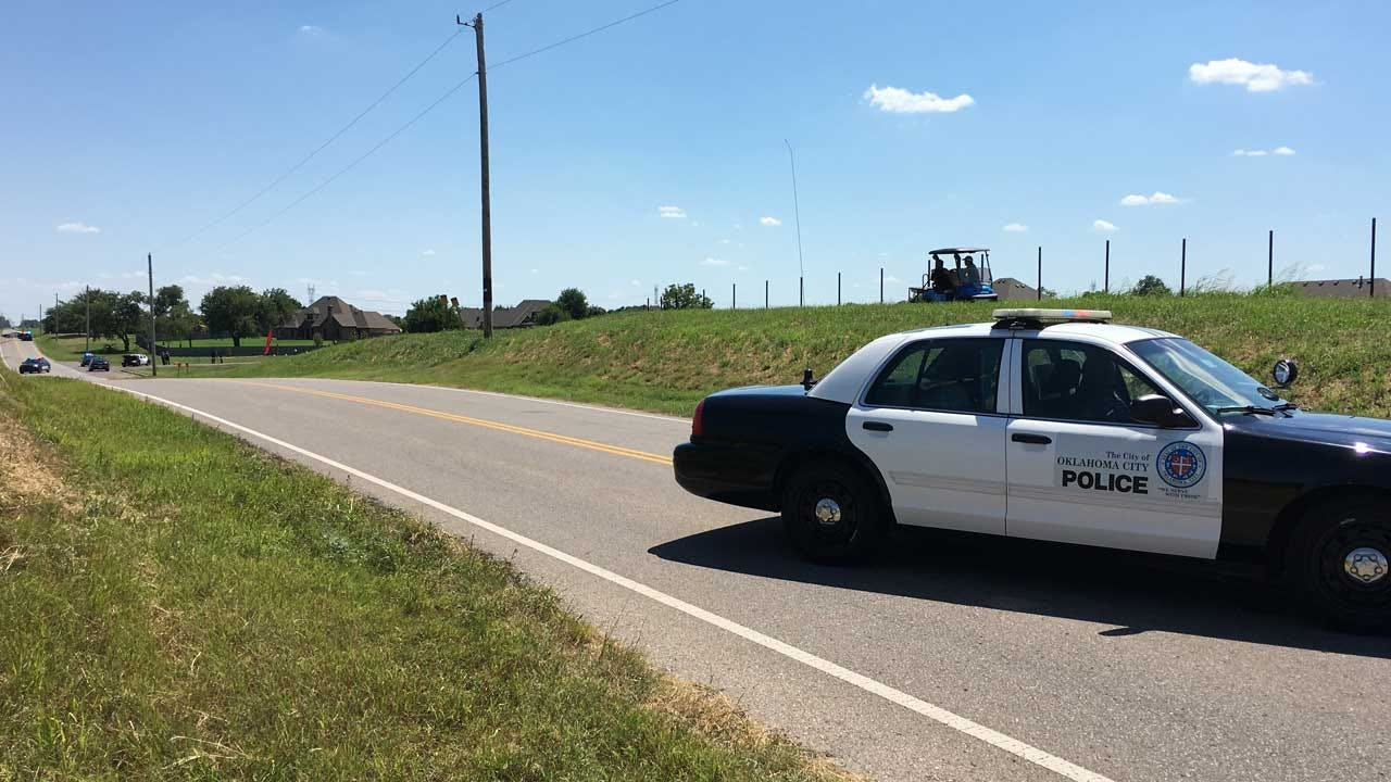 One Dead After Single-Vehicle Crash In SW OKC