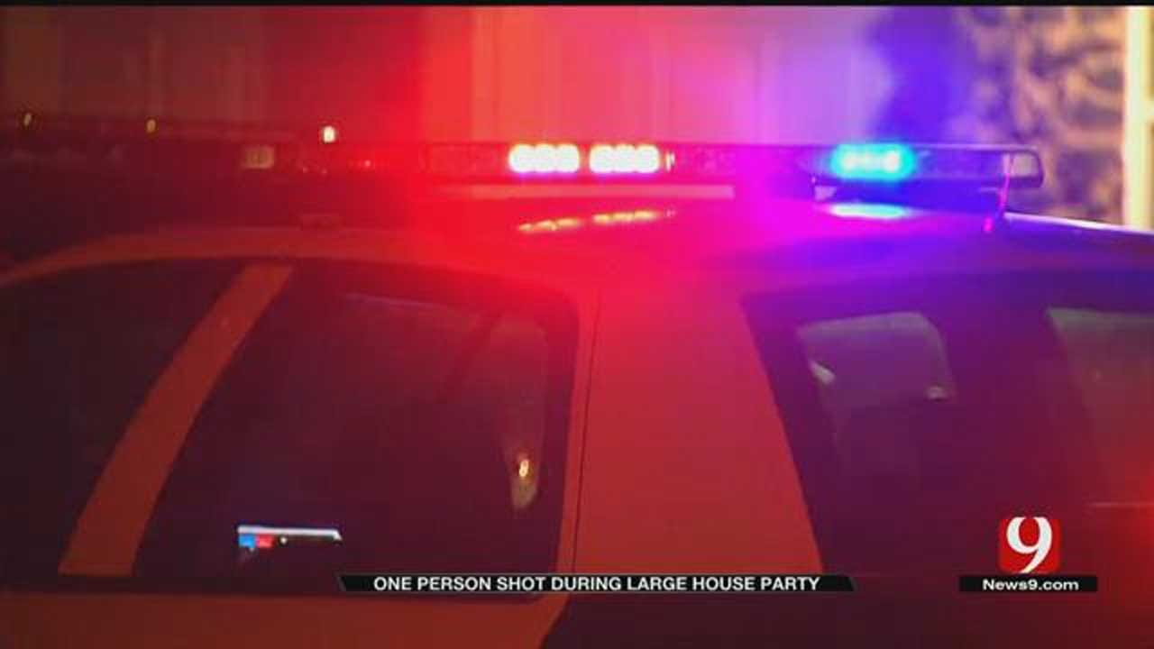 Police Investigating After One Person Shot At OKC House Party
