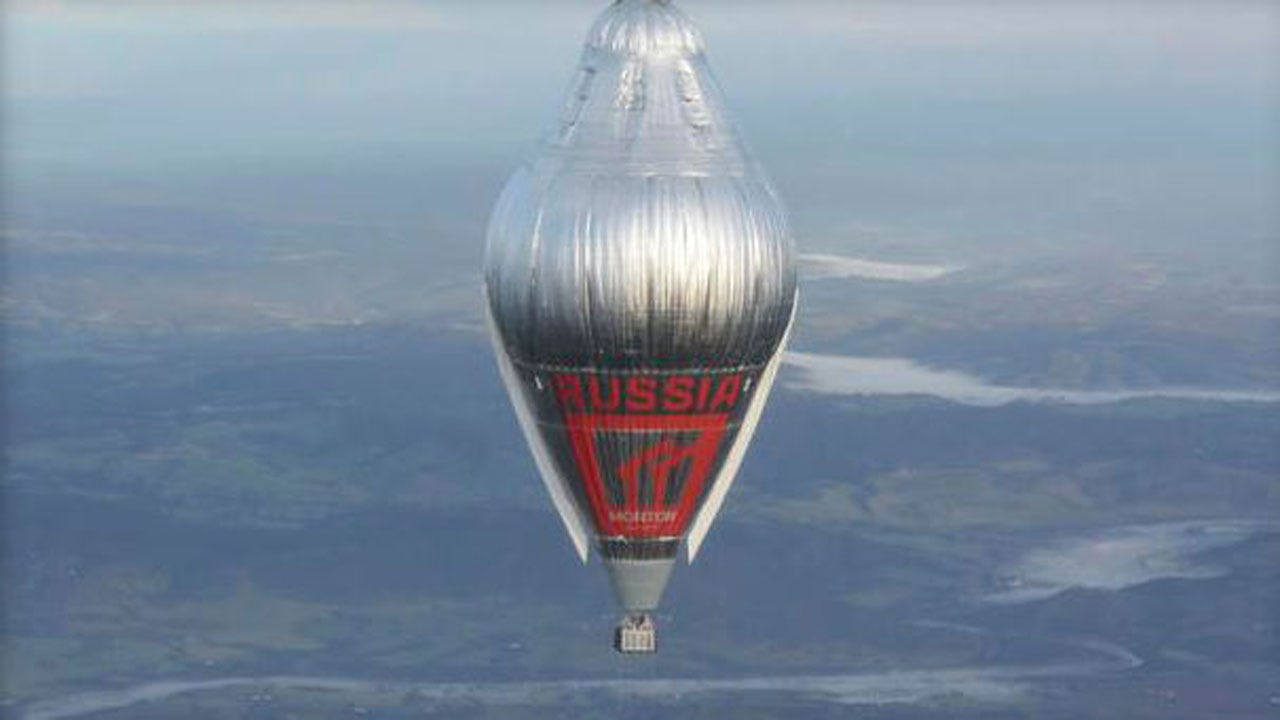 Balloonist Makes Record Round-The-World Solo Flight
