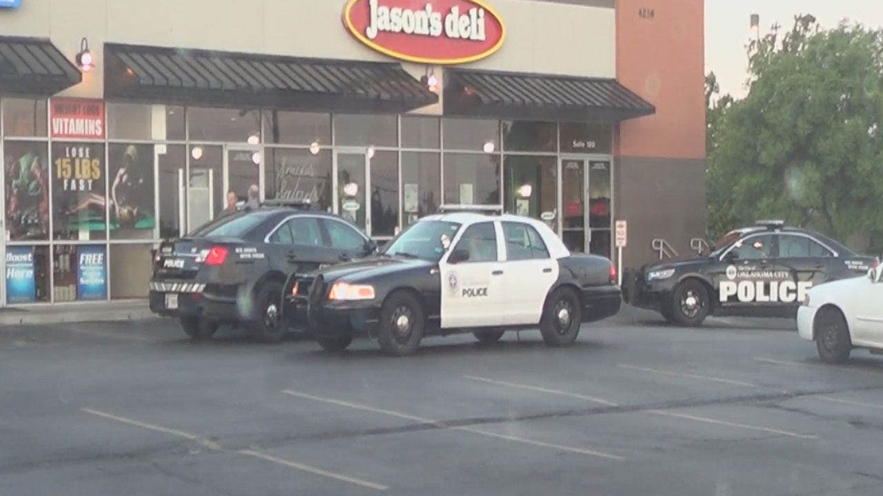 Police Look For Two Suspects In Armed Robbery Of OKC Jason's Deli