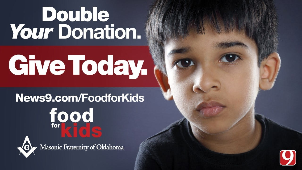 Masonic Fraternity Of Oklahoma To Match Food For Kids Donations