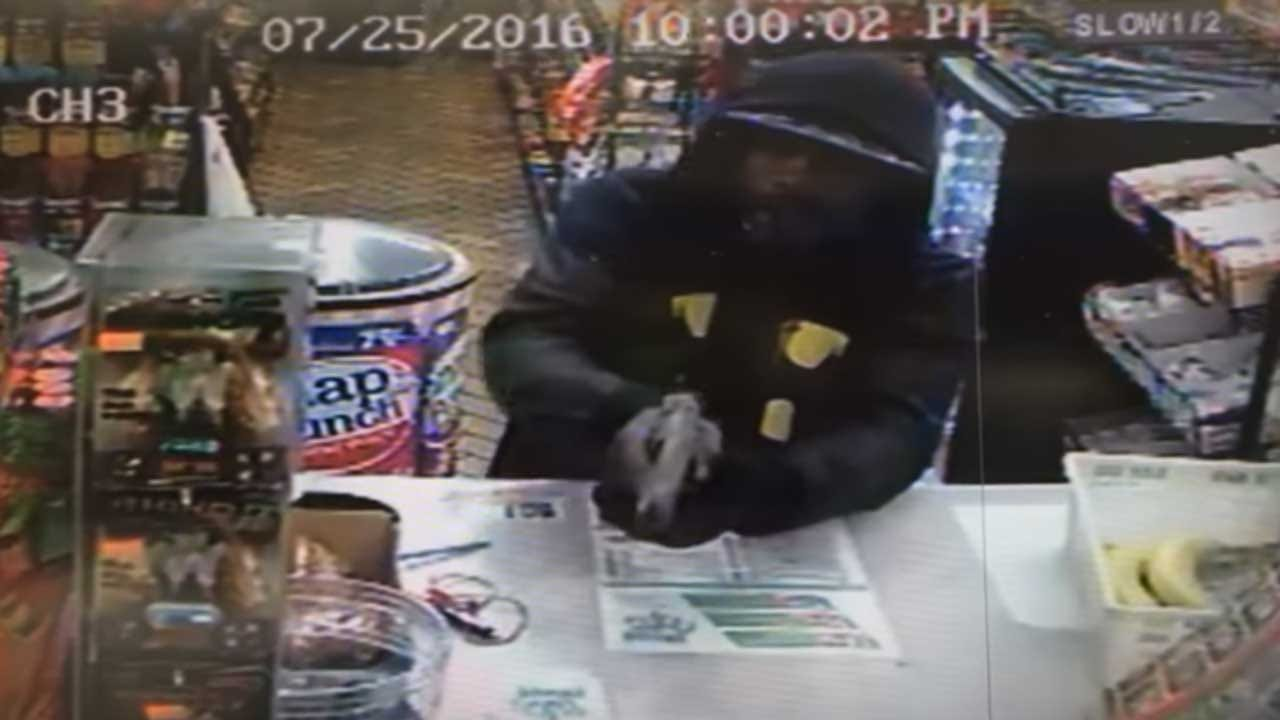 OKC Police Release Video Of Serial Armed Robber